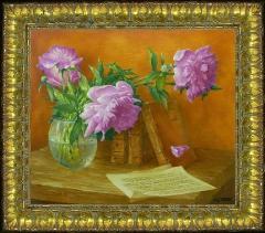 Exhibition of works by the artist Vasily Korkishko Dnepropetrovsk.
